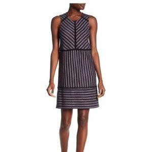 Nwt BCBGMaxazria Jacquard fitted dress Size XXS